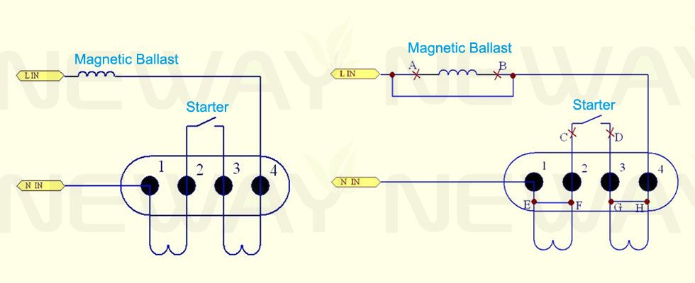201212082337501804  Lamp Ballast Wiring Diagram To Led on