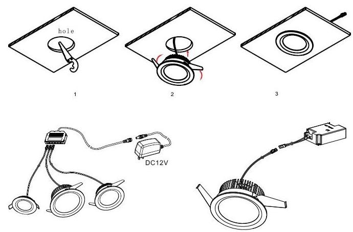 led downlight installation instructions - neway news