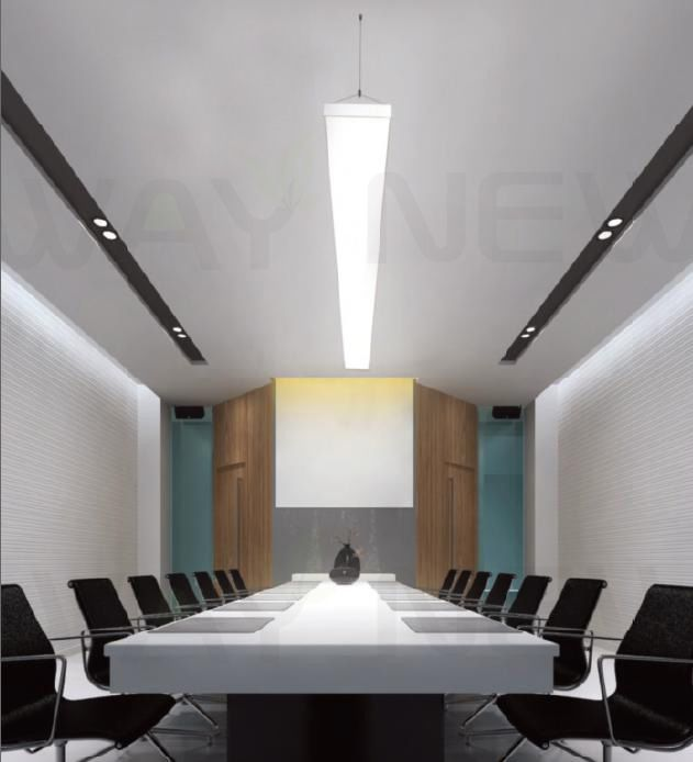 lighting replacement linear suspension led for office lighting