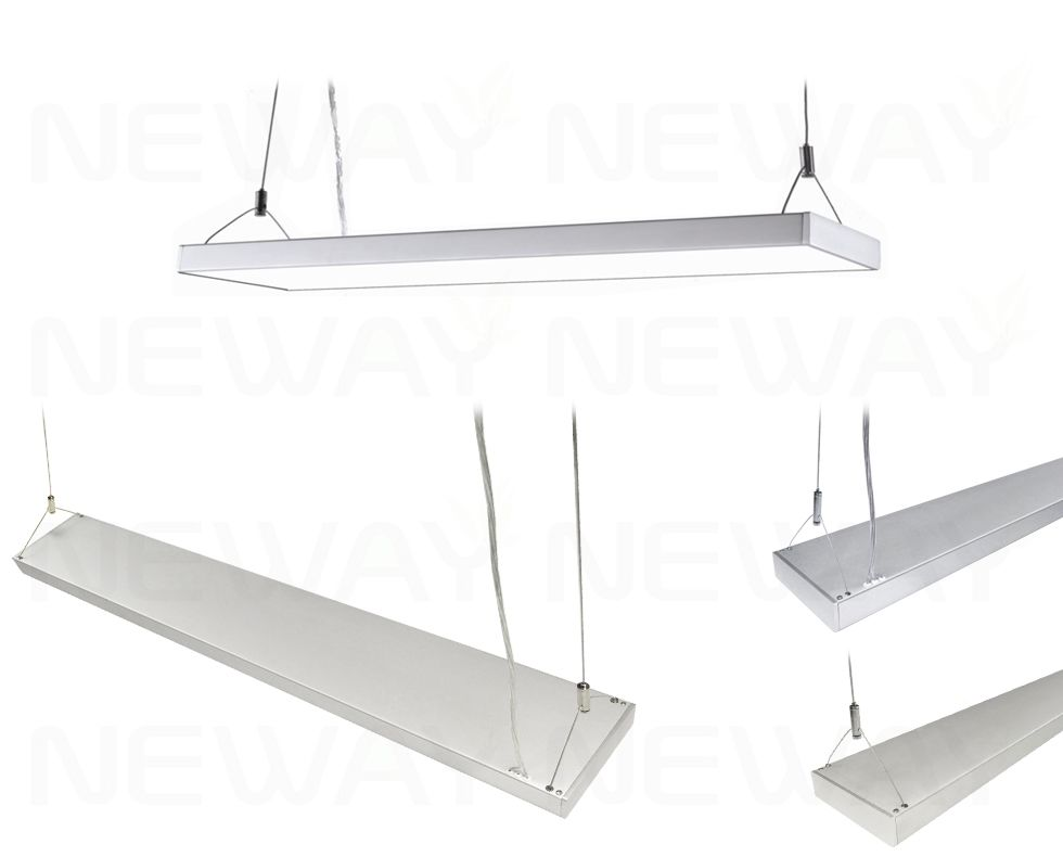 60w Led Linear Suspended Fitting Modern Linear Suspension