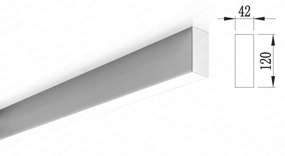 led office ceiling pendant lights fittings, surface-mount