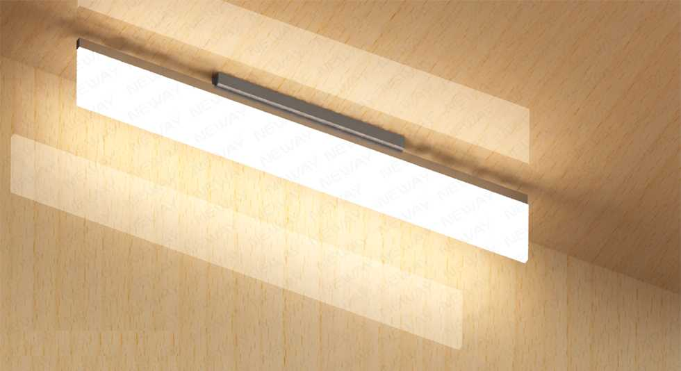 Low energy consumption office led garage ceiling light reflective low energy consumption office led garage ceiling light reflective surface mounted led light fixture specifictions 01 brand neway mozeypictures Images
