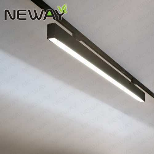 Continuous Track Rail System Led Linear Light For Commercial Use Showcase Lighting