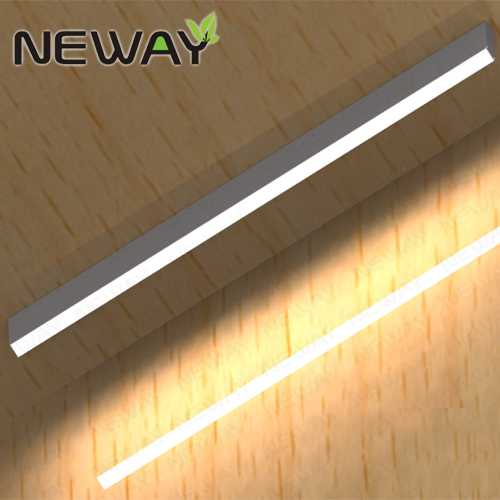 Led suspended linear light fixtures china pendant lighting fluorescent ceiling light led ceiling lights for office studio modern design surface mounted light aloadofball Choice Image